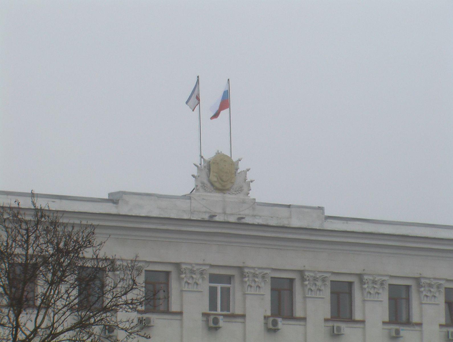 схема боевых действий на востоке украины на 27.02.2014